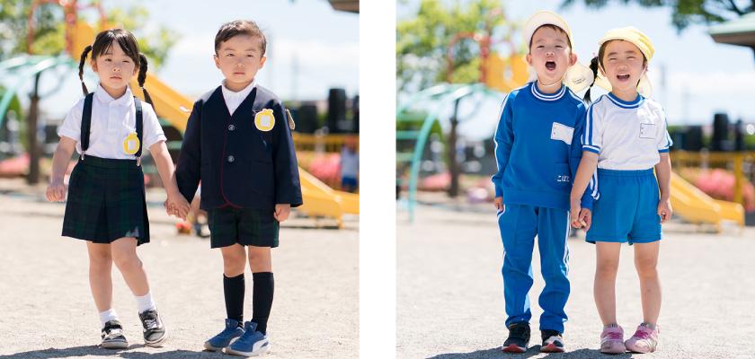 こばと幼稚園 制服